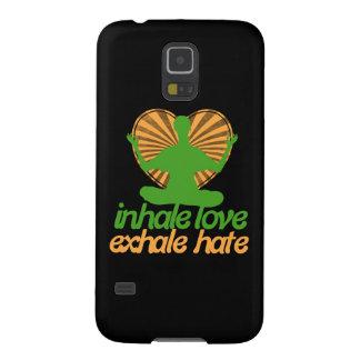 Inhale love exhale hate meditation galaxy s5 case