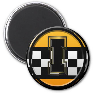 Initial I taxi driver 6 Cm Round Magnet