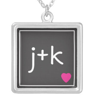 Initial Love Necklace