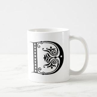 Initial Mug - Letter 'D'