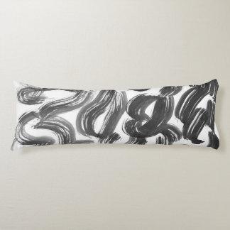 INK   minimal loft design Body Cushion