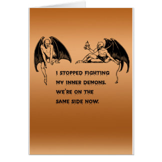 Inner demon card