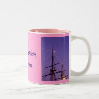 Inner Harbor Oil Two-Tone Coffee Mug