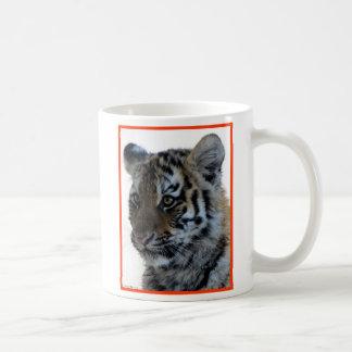 """""""Innocent"""" Tiger Cub Basic White Mug"""