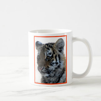 """Innocent"" Tiger Cub Coffee Mug"