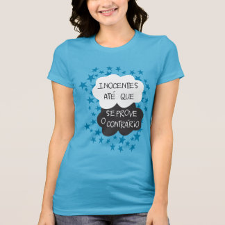 Innocents until the opposite is proved tees