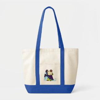 inparusutotohure child purple tote bag