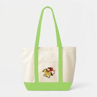 inparusutotokaba child light brown tote bag