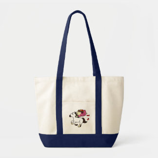 inparusutotokaba child white tote bag