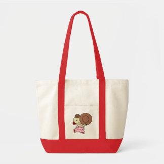 inparusutotokorudobe child brown tote bag