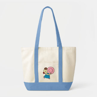 inparusutotokorudobe child pink tote bag