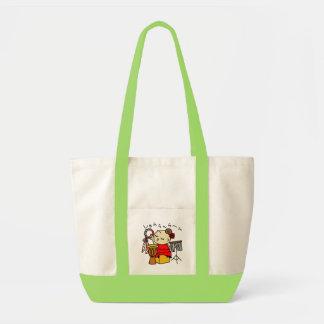 inparusutotoshiyara child red tote bag