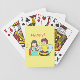 Insect 4 sisters tramp 1-14 playing cards