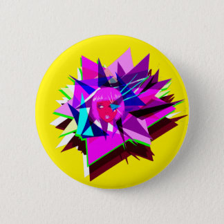 Insert Some Edgy Name Here 6 Cm Round Badge