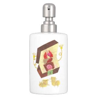 Inside Out Man Soap Dispenser + Toothbrush Holder