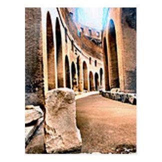 Inside the Coliseum Postcard
