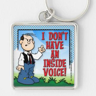 Inside Voice Key Ring