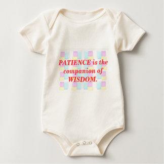 INSPIRATION : Wisdom Patience Baby Bodysuit