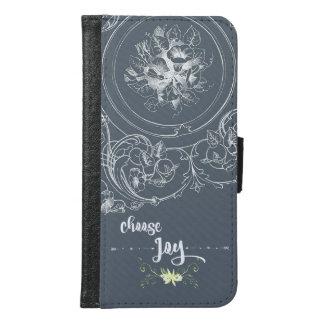 Inspirational Choose Joy Quote Samsung Galaxy S6 Wallet Case