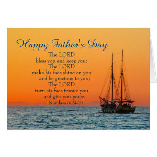 Inspirational Father's Day, The Lord Bless You Card