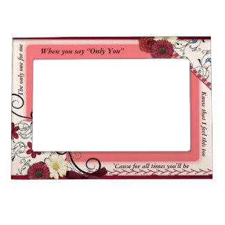 Inspirational Frame - Love Photo Frame Magnets