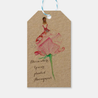 Inspirational gift tag for your loved ones