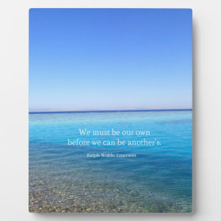 Inspirational Life Quote Plaque
