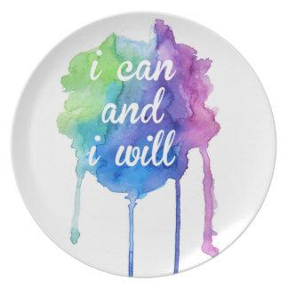 Inspirational Message Plate