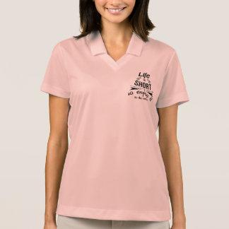 Inspirational motivational quote Pique Polo Shirt