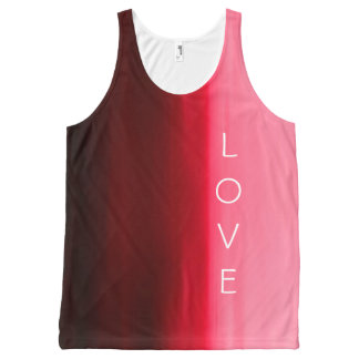 Inspirational Red Love Tank