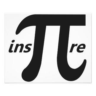 Inspire Inspirational Pi Symbol 11.5 Cm X 14 Cm Flyer
