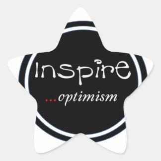 'Inspire...optimism' Sticker