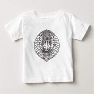 Inspired Baboon Face Baby T-Shirt