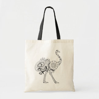 Inspired Ostrich Tote Bag