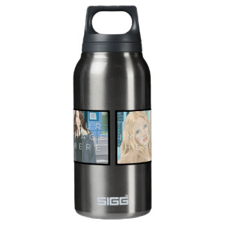 Instagram 4 Photo Aluminum Insulated Water Bottle