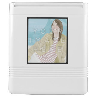 Instagram 4-Photo Personalized Custom Igloo Cooler Chilly Bin