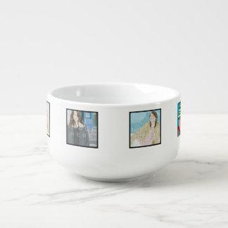 Instagram 6-Photo Personalised Custom Soup Mug