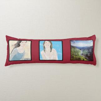 Instagram 6-Photo Red Custom Body Pillow