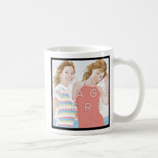 Instagram Two Photo Custom Personalized Mug Design