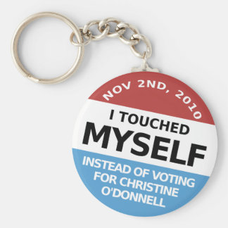 ...Instead Of Voting For Christine O'Donnell Key Ring