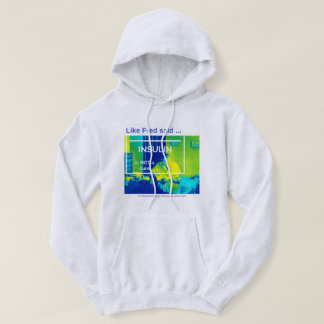 Insulin is not a cure - thermal hoodie