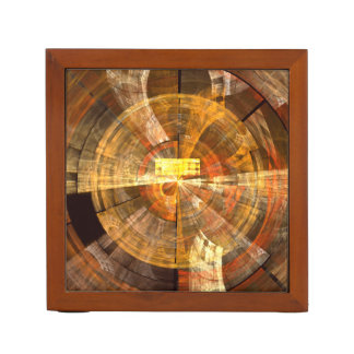 Integrity Abstract Art Desk Organiser