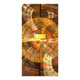Integrity Abstract Art Photo Card