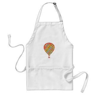 Intense Color ARTISTIC Stripes Balloons Aprons