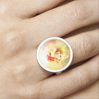 Interesting Angel / Cupid Fashion Ring