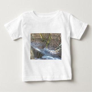 Interesting Ice Cracks Baby T-Shirt