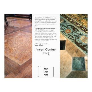 Interior Decorative Concrete Brochure 21.5 Cm X 28 Cm Flyer