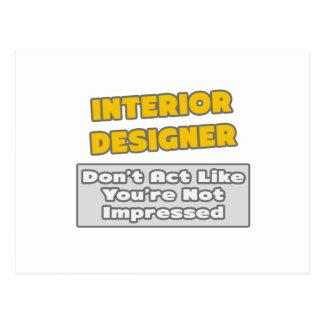 Interior Designer You39re Impressed Postcard