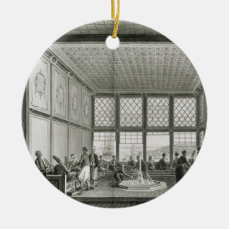 Interior of a public cafe in Constantinople by the Christmas Ornament