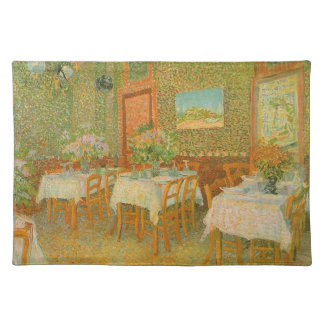 Interior of a Restaurant by Vincent van Gogh Placemat